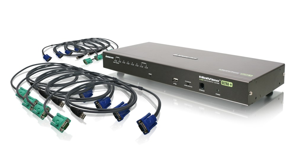 medium resolution of 8 port usb ps 2 combo vga kvm switch with usb kvm cables