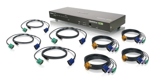 small resolution of 8 port usb ps 2 combo vga kvm switch with cables
