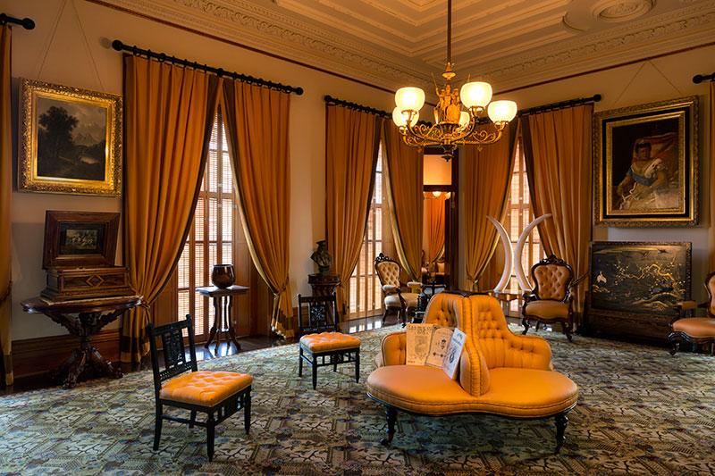 Music Room  Iolani Palace