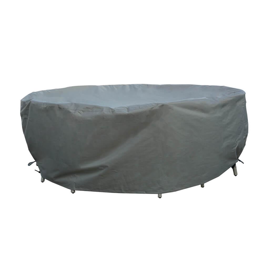 2021 bramblecrest 150cm round table set outdoor furniture cover
