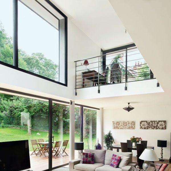 maison moderne mezzanine