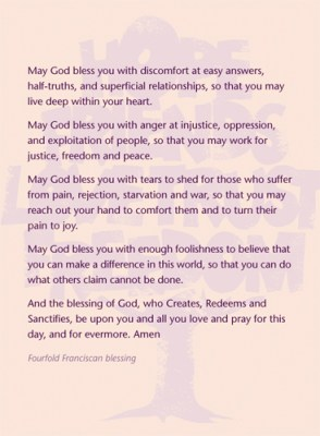 Franciscan Blessing