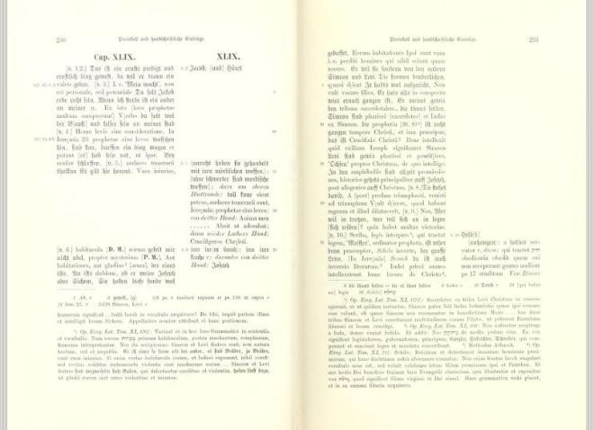 Overview of Luther & co/s 1541 Genesis 49 revisions as shown in Weimar 3:230, courtesy of archive.org.