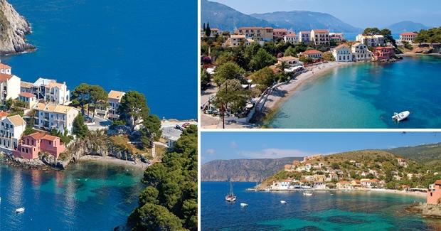 Ionian and Aegean Island Holidays Sea Path Apartments Assos Kefalonia