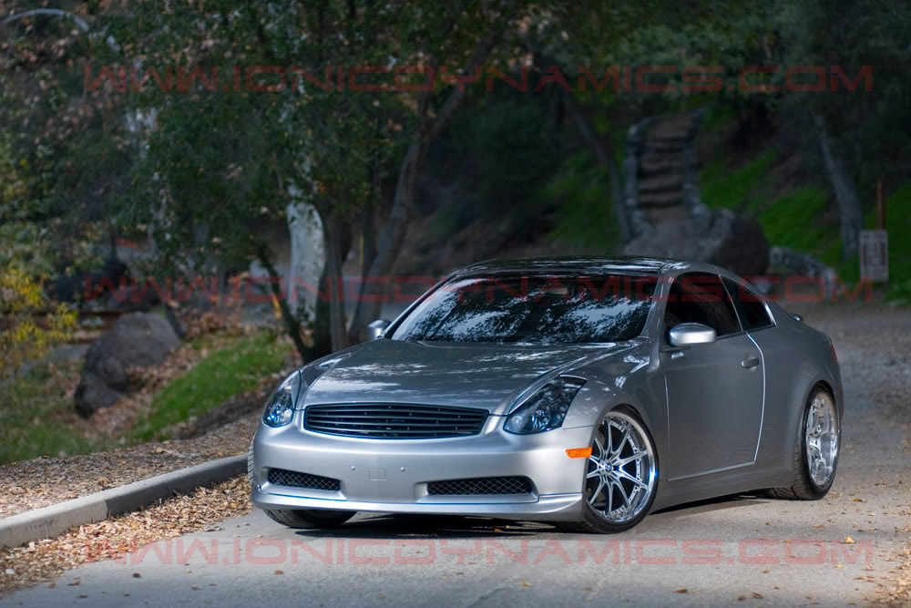 G35 Coupe emblemless grill