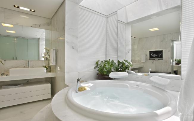 Banheiros de Luxo Decorados Fotos