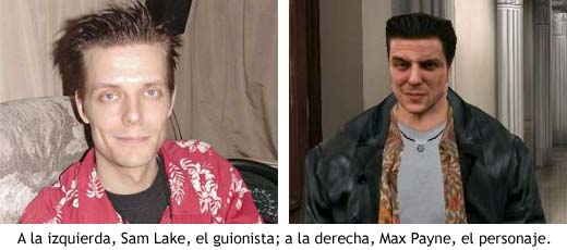 Sam Lake & Max Payne