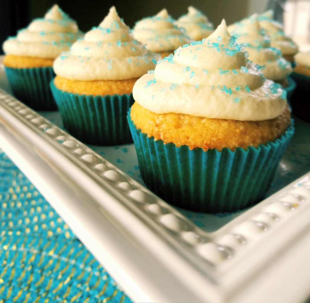 Classic homemade vanilla cupcakes are easy to make from scratch and only require a few ingredients you likely already have in your pantry. Super moist and topped with homemade buttercream frosting.