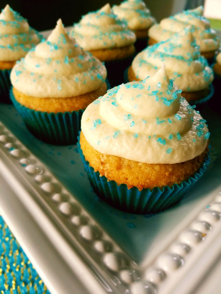 Classic vanilla cupcakes from scratch are moist and perfect for your next birthday party.