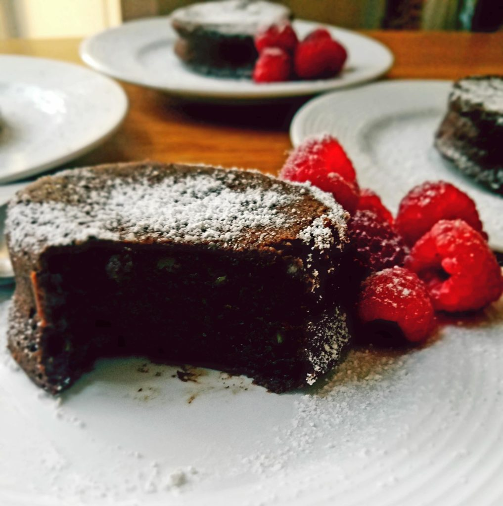 This decadent chocolate fudge cake recipe gets a healthy make over. It's super easy to make and so moist and fudgy, it's hard to stop at just one bite.