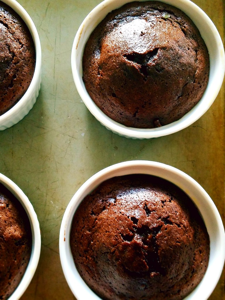 Freshly baked, homemade, chocolate fudge cakes are so easy to make. They also have a surprise healthy ingredient...avocado!