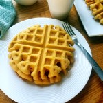 Healthy Chickpea Waffles