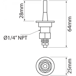 Low Coolant Level Sensor, Low, Free Engine Image For User