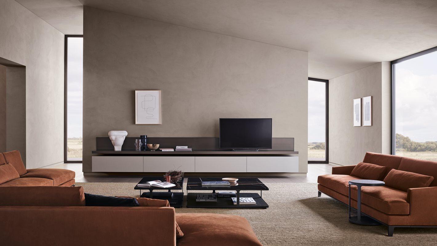 Arredare il soggiorno in stile moderno: Arredamenti Saloni Moderni Come Personalizzarli Con Stile