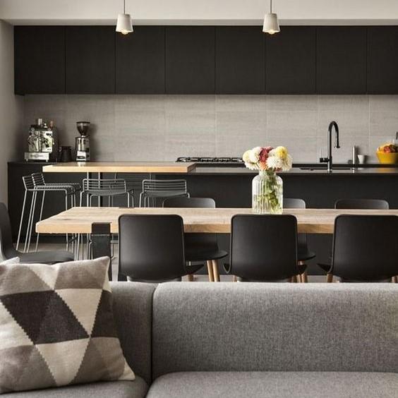 La concezione di cucina e soggiorno open space moderno abolisce le. Come Arredare Soggiorni E Cucine Insieme In Un Unico Ambiente