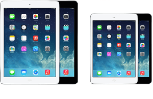 iPad Air ve iPad Mini