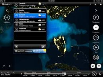 MeteoEarth ios