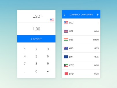 Currency Converter HD ios