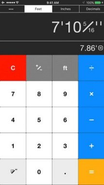 Workman's Calculator ios