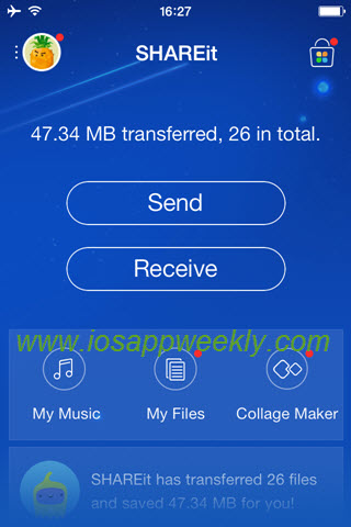 How to transfer contacts from android to iphone 6 using shareit