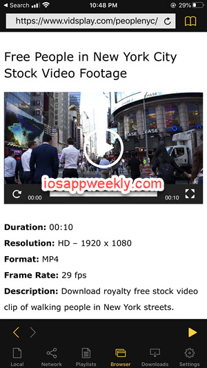 nplayer for iphone play online videos