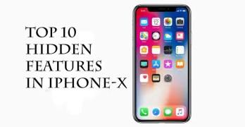 Top 10 Apple iPhone X hidden features