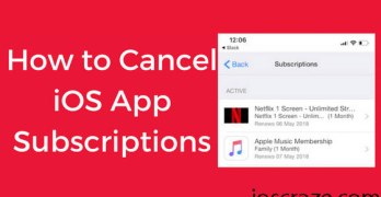 How to cancel iOS app subscriptions on your iPhone/iPad