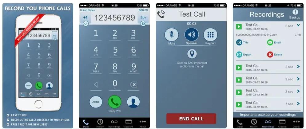 Call recording app free