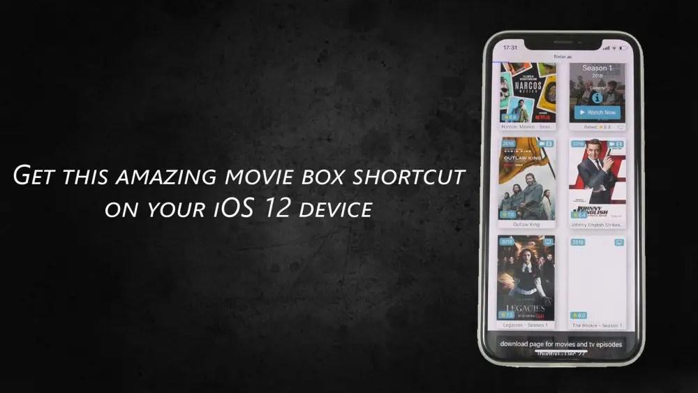 free movie box app