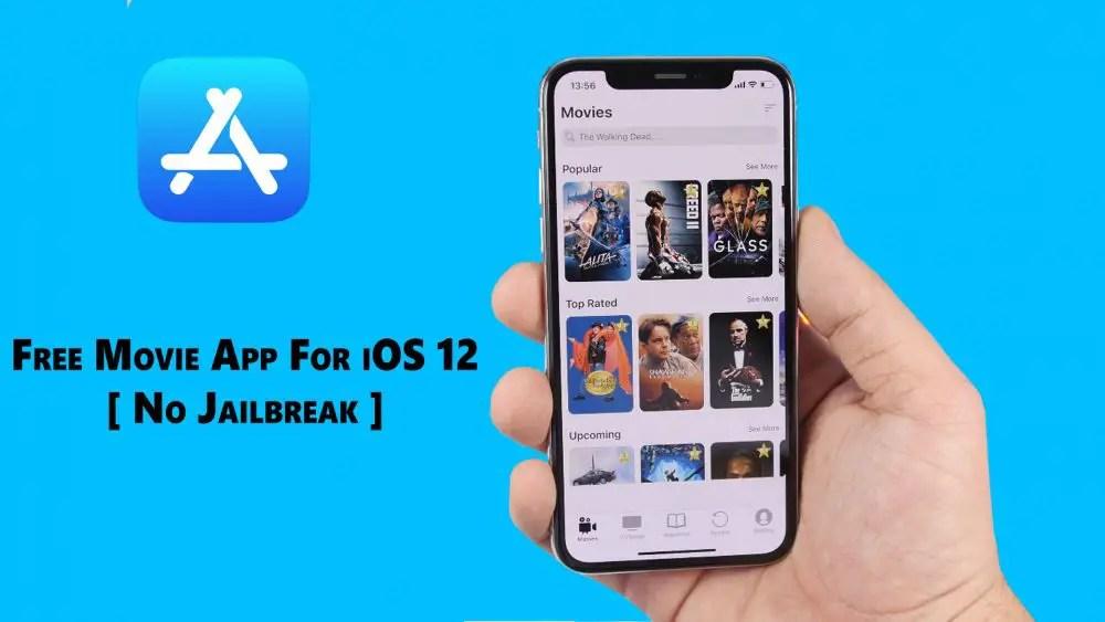 Free movie app for iOS 12
