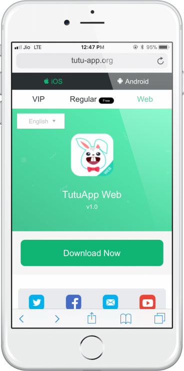 Download TutuApp for iOS 12
