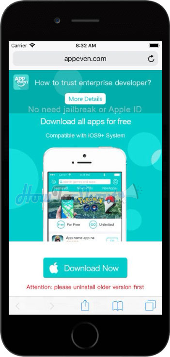 Download Appeven in iPhone