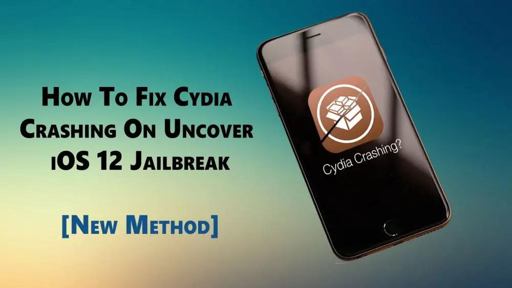 how to fix Cydia crashing