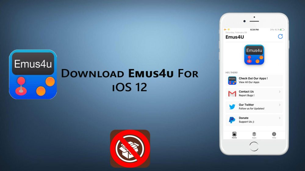 How to download emus4u for iPhone  iPad without jailbreak