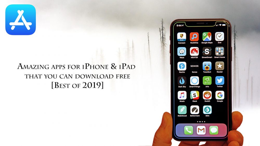 New iPhone Apps 2019