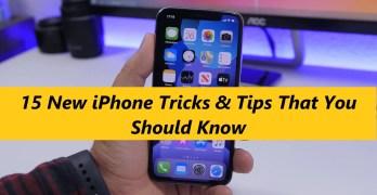 New iPhone Tricks