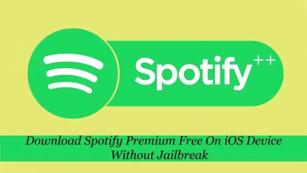 Spotify Premium Free iOS