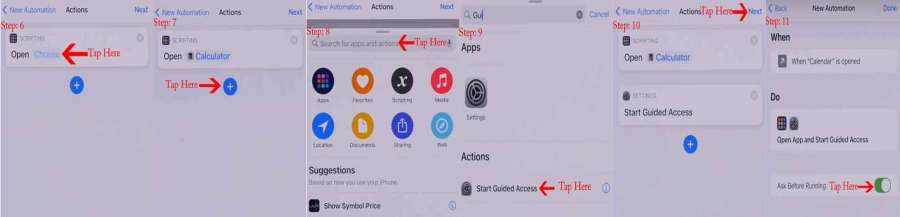 Lock iPhone Apps