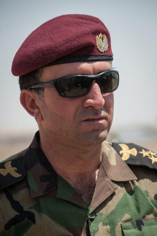 Ο Συνταγματάρχης Iskandar Haji. / Colonel Iskandar Haji.