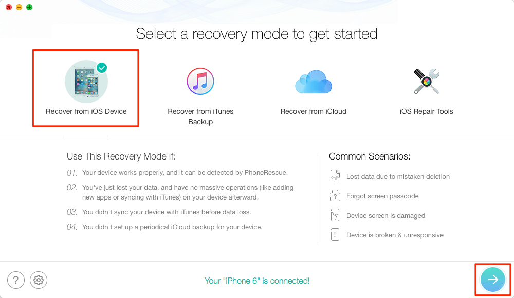 Recover deleted iPhone call history from iOS device