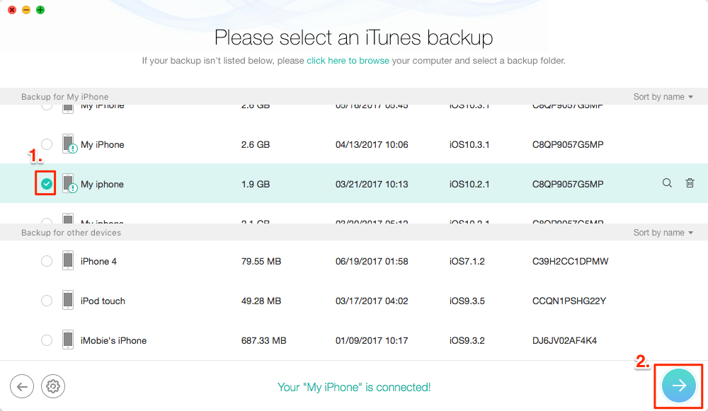 How to Recover Broken iPhone Photos from iTunes Backup