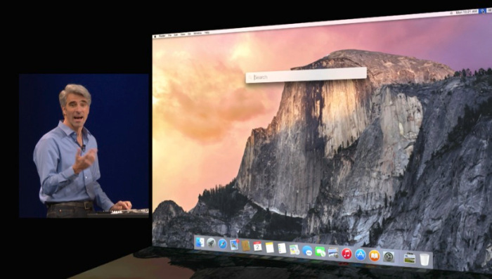 OSX Yosemite Apple