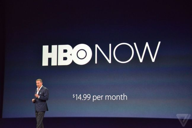 Apple Keynote 9 Marzo - HBO