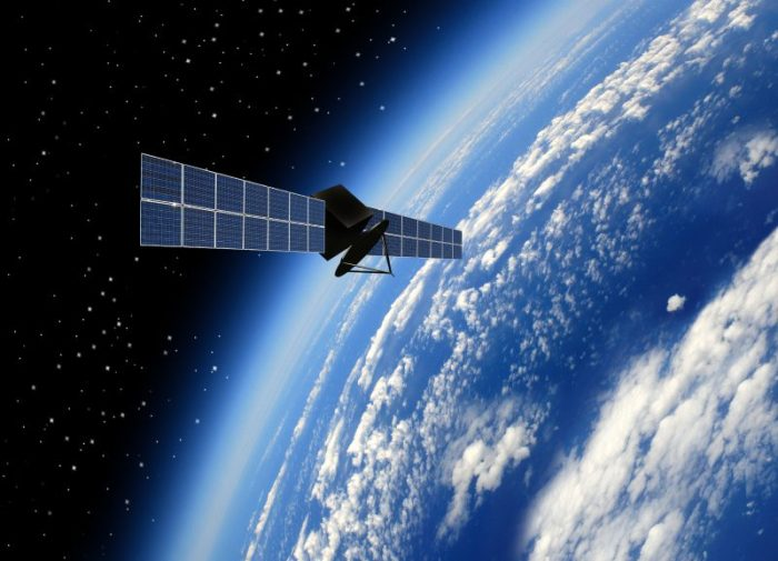 satellite and GPS
