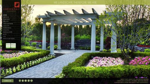 Website Design – Landscape Design Company