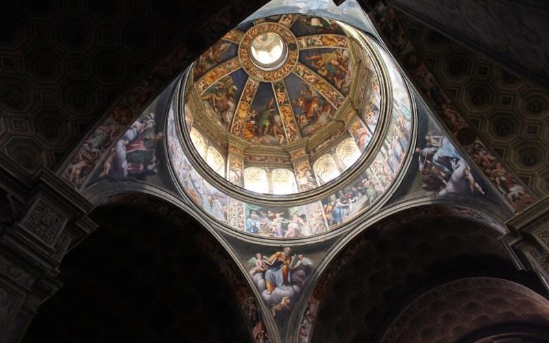 affreschi cupola pordenone