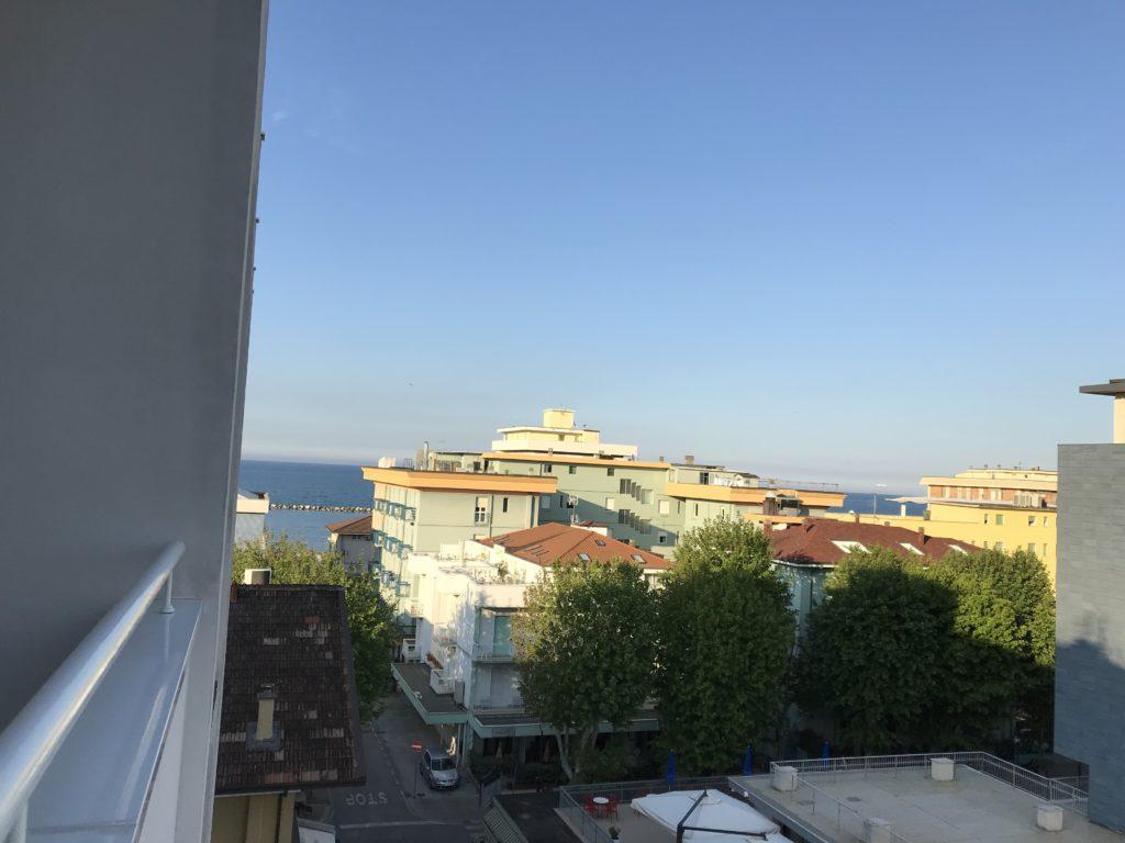 Vista mare dalla nostra camera