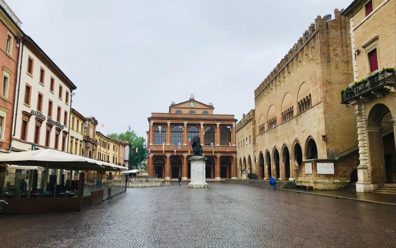 piazza Cavour a Rimini