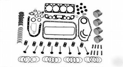 New nissan forklift H20 engine major overhaul kit parts
