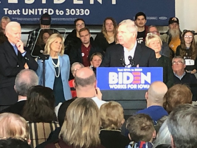 One of Iowa Most Well-Known Couples Endorses Joe Biden for President 2